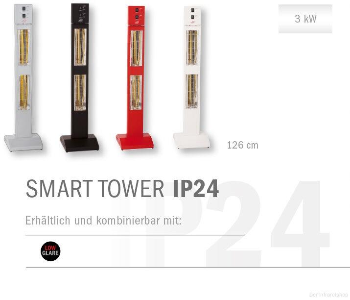 burda smart tower ip24 wintergartenheizung standheizstrahler. Black Bedroom Furniture Sets. Home Design Ideas