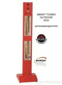 burda smart tower ip24 3 kw rot bhst3024 4 standheizstrahler. Black Bedroom Furniture Sets. Home Design Ideas